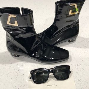 Gucci patent leather booties/ Final price❤️😊